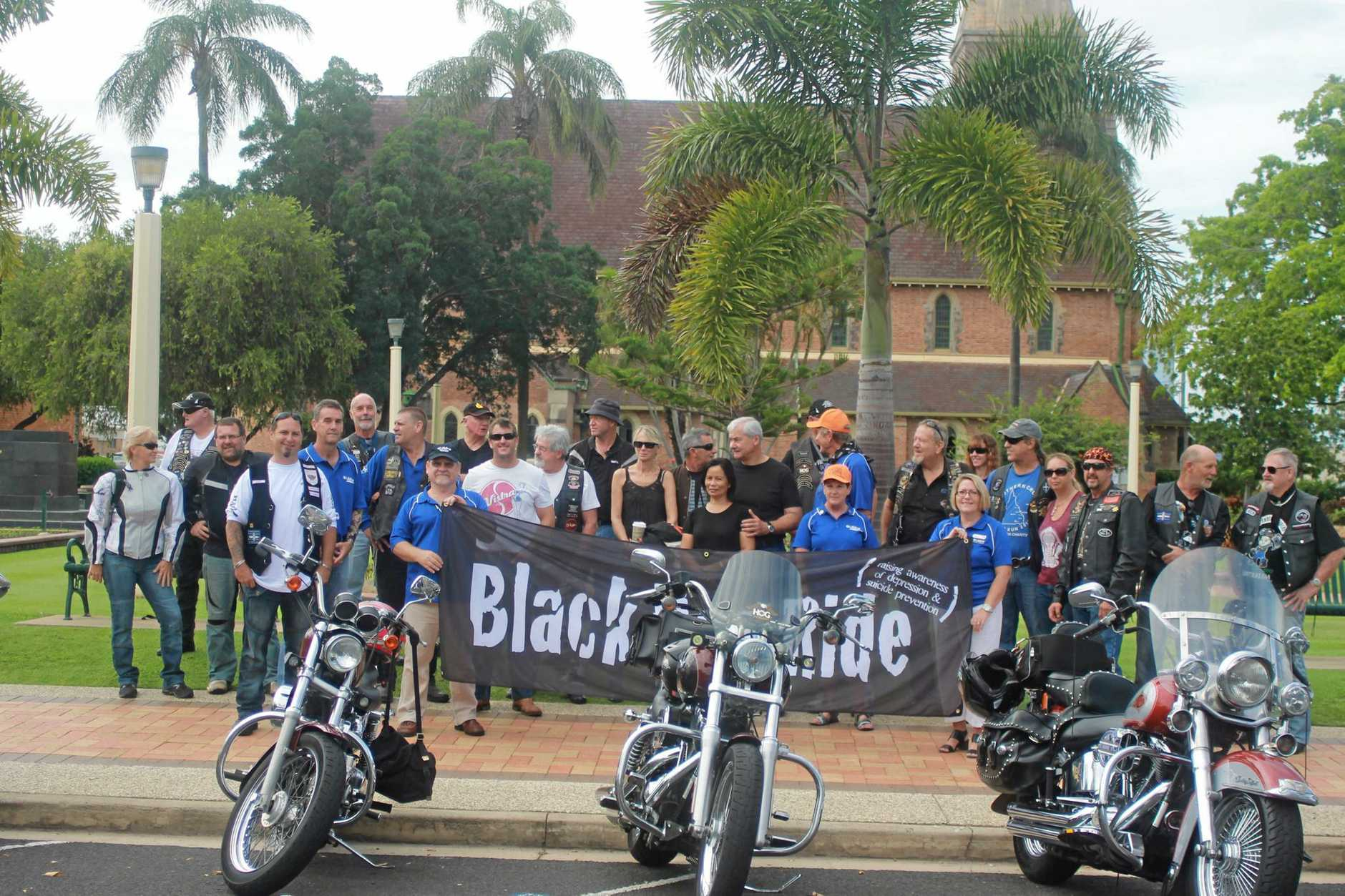 BLACKDOG RUN:  raise awareness to depression and suicide.