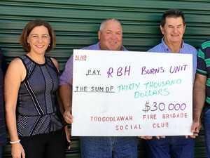Toogoolawah firies raise thousands