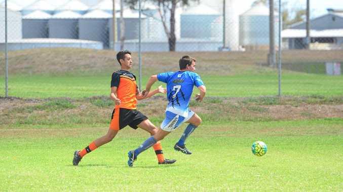 Merry Men and Nanango played an entertaining semi-final.