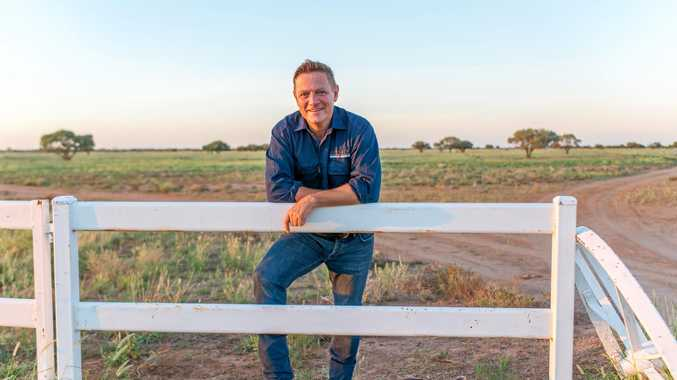 NEW VENTURE: Outback School of Business founder Andrew Poots on his cattle station near Longreach.