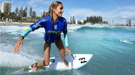 Pacha Light is making waves of her own now as one of the country's top up and coming surfers.