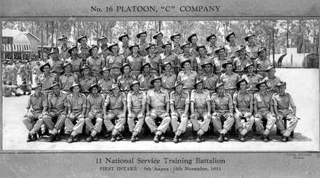 Between 1951 and 1959, 500,000 young men Registered for National Training, and over that time there was 52 intakes and over 227,000 were trained.