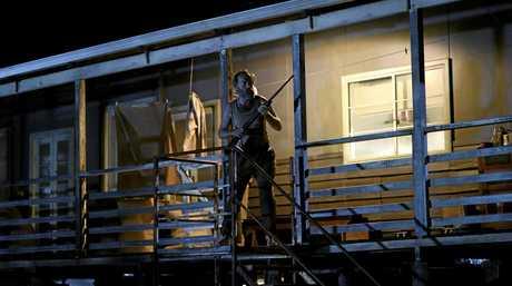 Hugo Weaving stars as Mad Jack Lionel.
