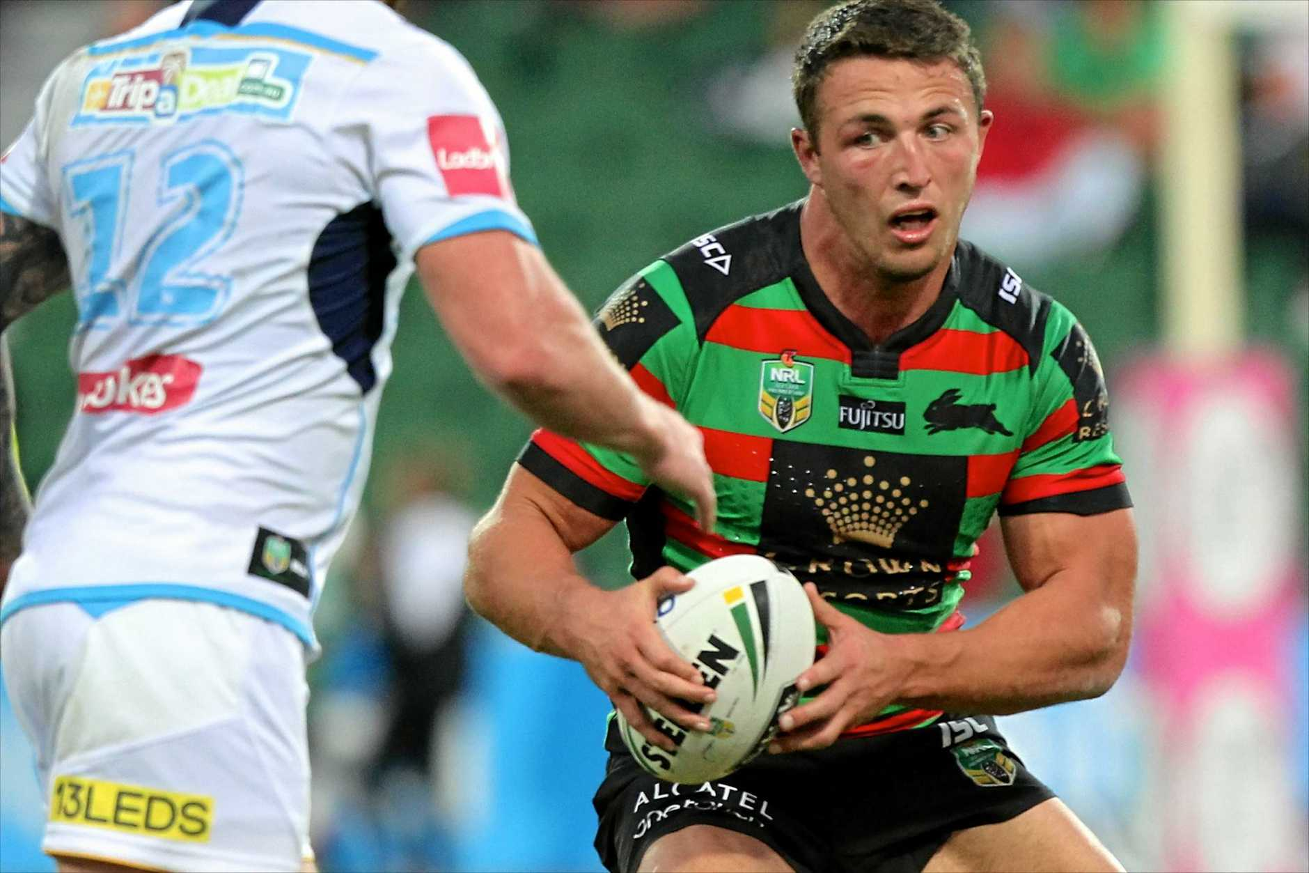 Sam Burgess of the Rabbitohs.