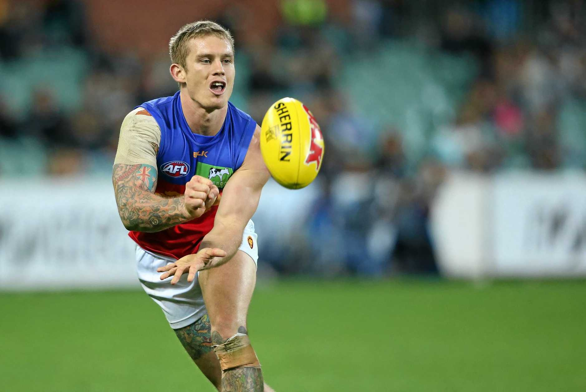 Dayne Beams will captain the Brisbane Lions this season.
