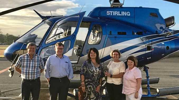 COMMITTEE: Barry Coulter, Tim Hallam (NAIF Director of Origination), Karla Way-McPhail, Sharon Warburton (chair), Laurie Walker (CEO)