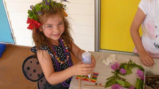MAGIC KINGDOM: Having fun at the Sunshine Coast's first Fairy House Festival.