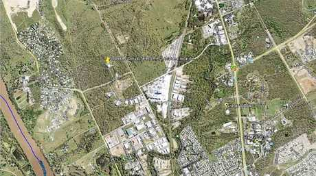 15 Birkbeck Drive, Parkhurst is the location where Optus is building new telecommunications infrastructure.