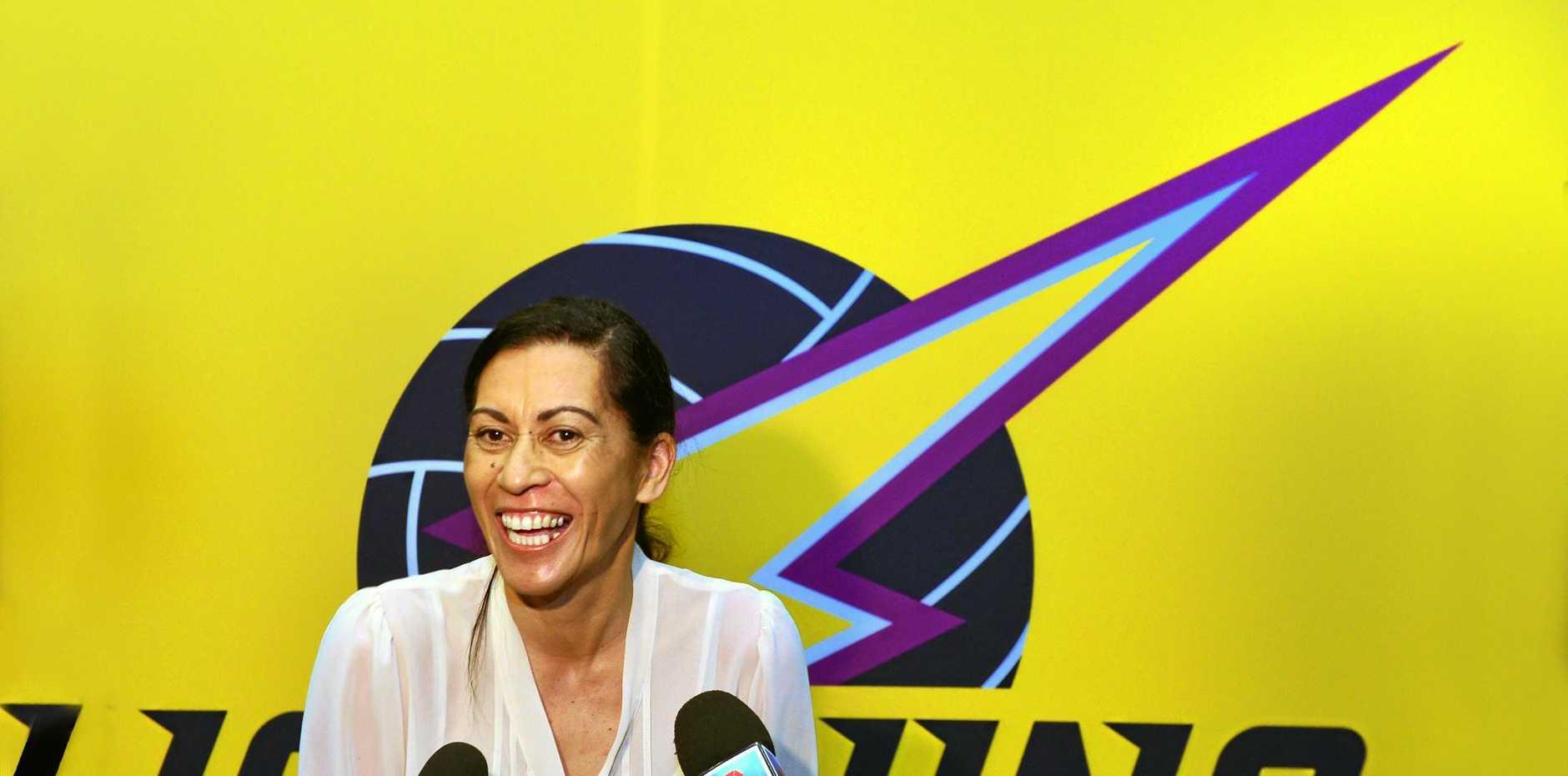 TOP COACH: Noeline Taurua is critical to Lightning's success.