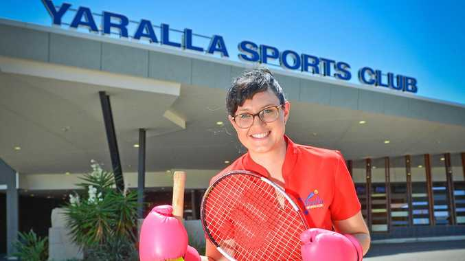 IN THE GAME: Yaralla's Jamie Peterson is excited to see this year's junior sports stars.