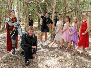 FAIRYTALE PLAY: Fraser Coast Anglican College students will star in Robin the Hood, coming to the Brolga Theatre on March 24-25.