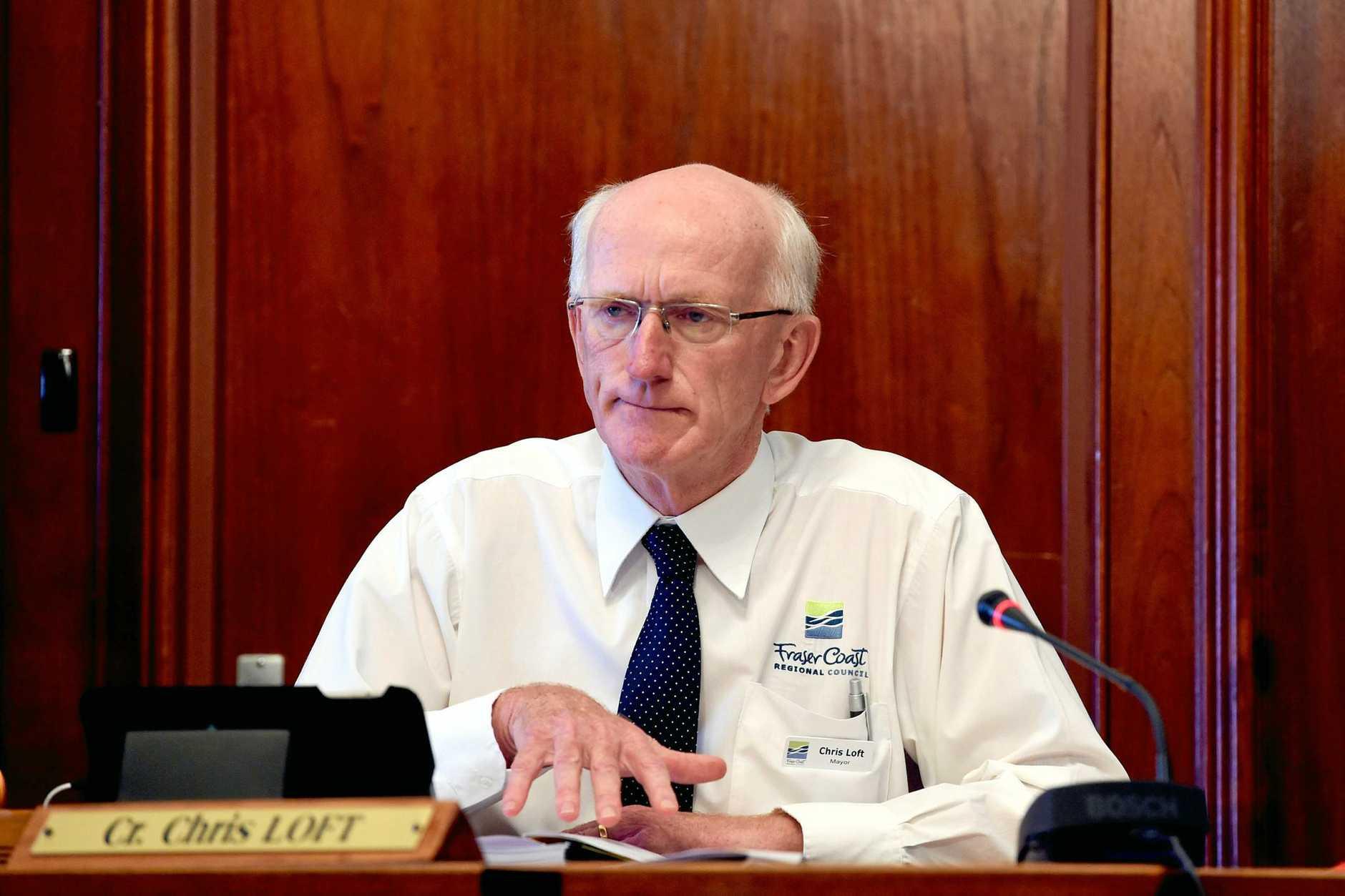 Fraser Coast Regional Council Mayor - Chris Loft.