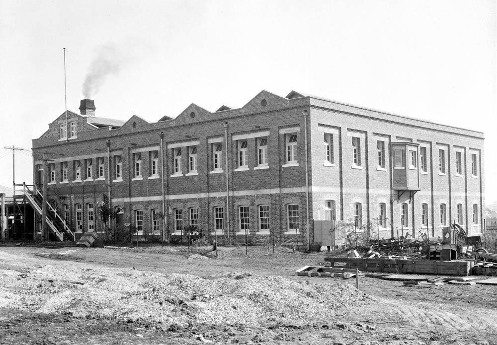MEMORIES: The woollen mills at East Ipswich around 1920.