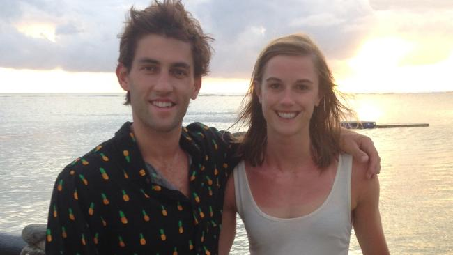 A young couple Kate and Nick planned an idyllic getaway, but it became the holiday from hell. Picture: Supplied
