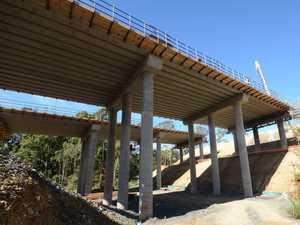 Final bridge girders a highway upgrade milestone