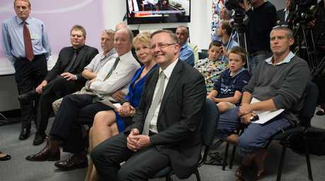 Anthony Albanese in Coffs Harbour.