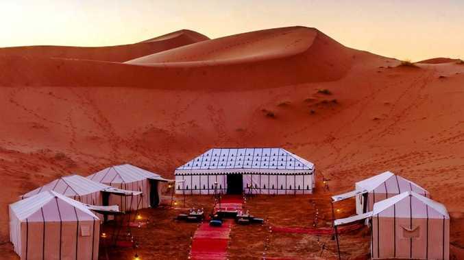When in Morocco.... Photo credit: Merzouga Luxury Desert Camp