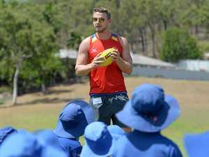 Suns gives Rocky kids a taste of AFL