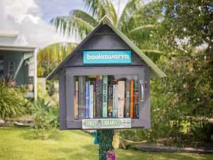 Feed your imagination with a new book from the street library in Arrawarra.