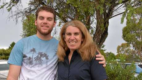 Joe Manwaring with his mum Leanne have lived life to the fullest since the death of Dan.