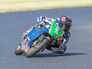 Barker aiming for the podium