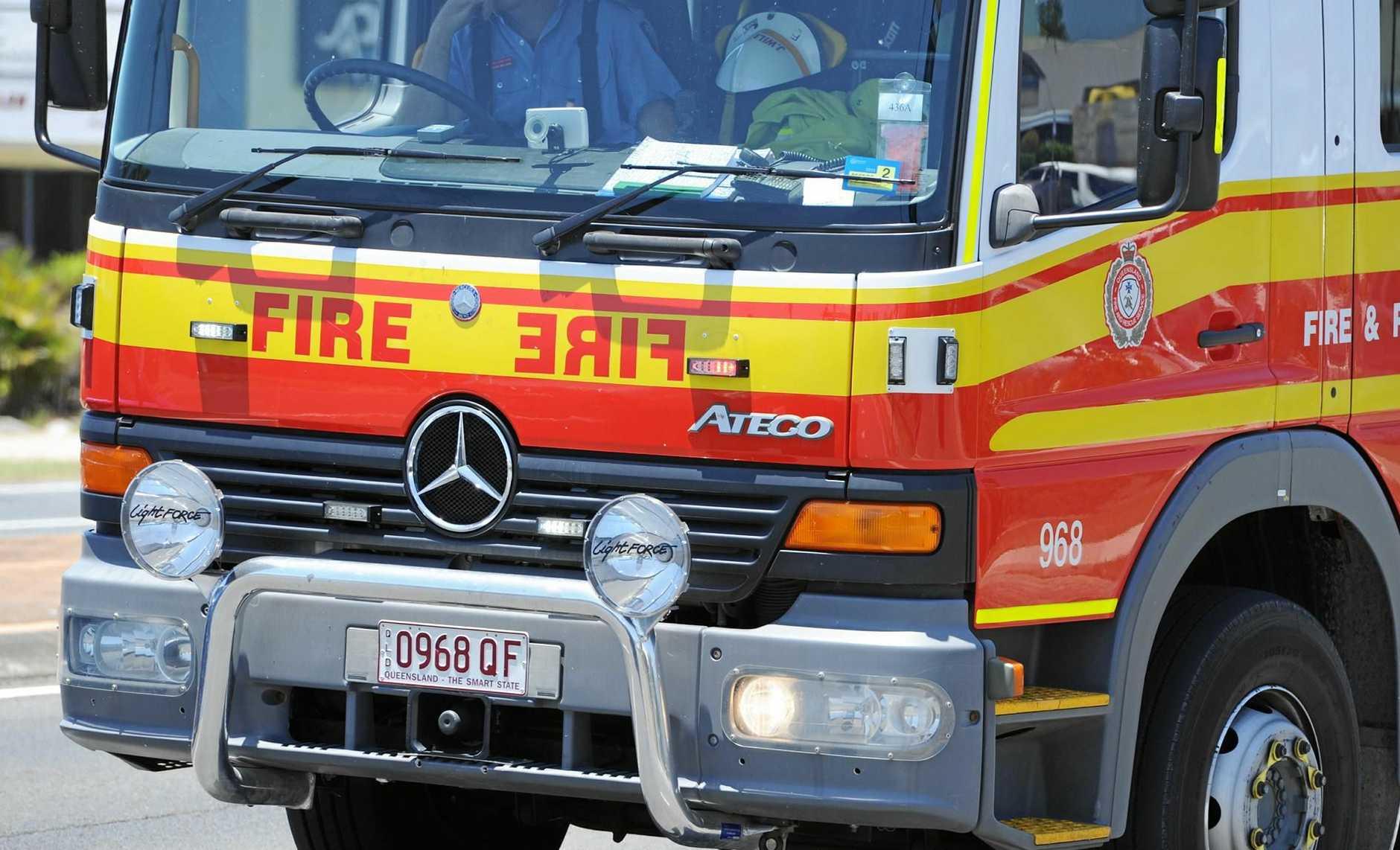 FIRE crews are rushing to a Sunshine Coast school.