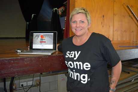 STYMIE STARTER: Rachel Downie, director of Stymie, is visiting schools across Australia to combat bullying.
