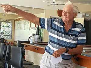 'Lucky' win for Sarina golfing veteran
