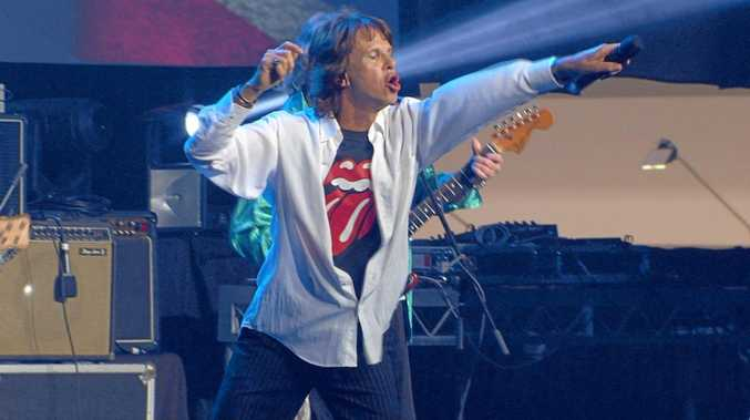 SPITTING IMAGE: John van Zyl is the lead man of the Rolling Stones Experience tribute show.
