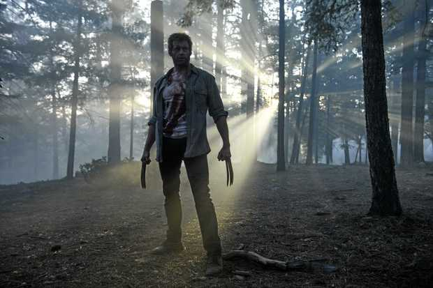 THE WOLVERINE: Hugh Jackman in a scene from the movie Logan.