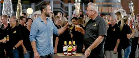 It's the spirit of Bundaberg and it's about to go global in a $20m campaign. With celebrities coming to the rum city to shoot new commercial.