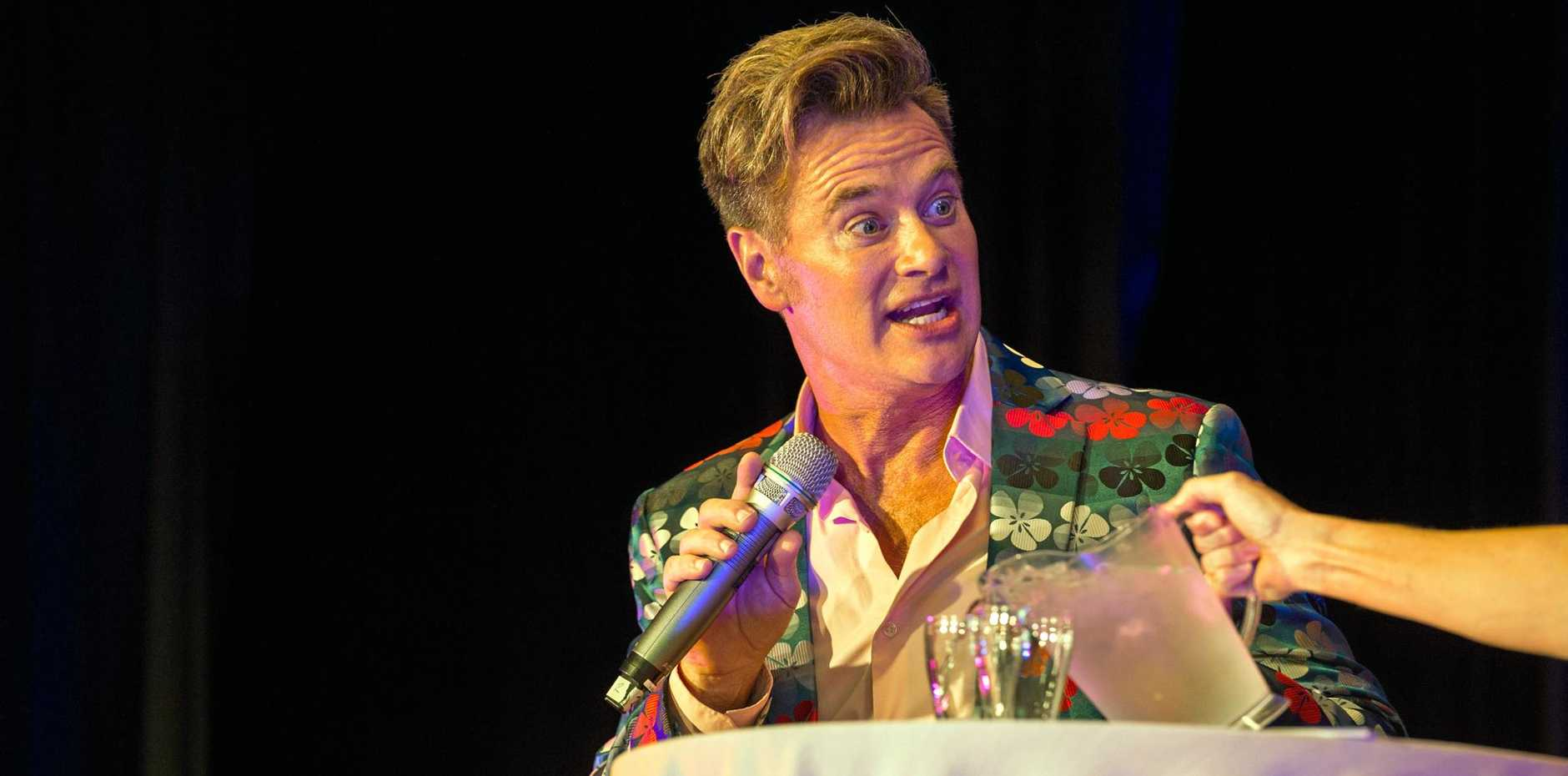 Hollywood commentator Richard Reid was the special guest of The Coffs Coast Advocate's The Harbour Club.