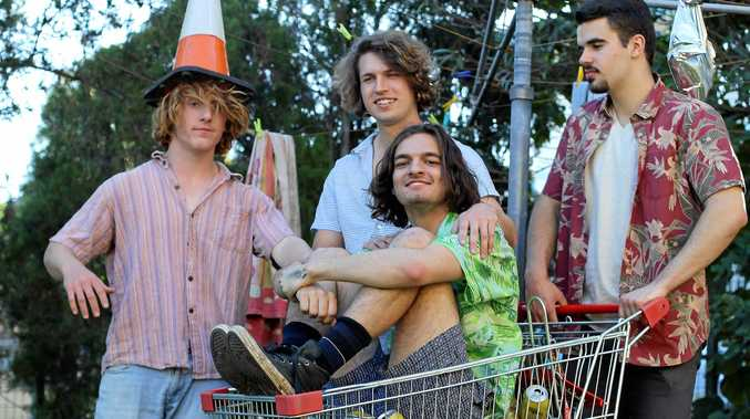 BLOOD, SWEAT AND BEERS: Brisbane outfit Shag Rock are heading to Yamba as part of their national tour.