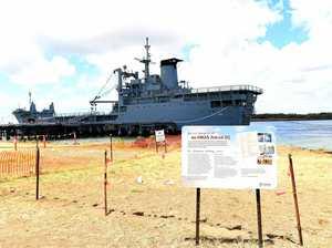 Tenders open for dredging of the ex-HMAS Tobruk