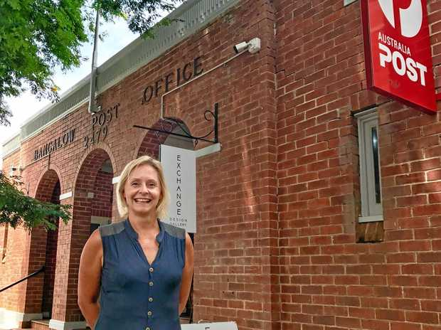 HISTORY: Nicole Swain is selling the historic Bangalow Post Office building this month.