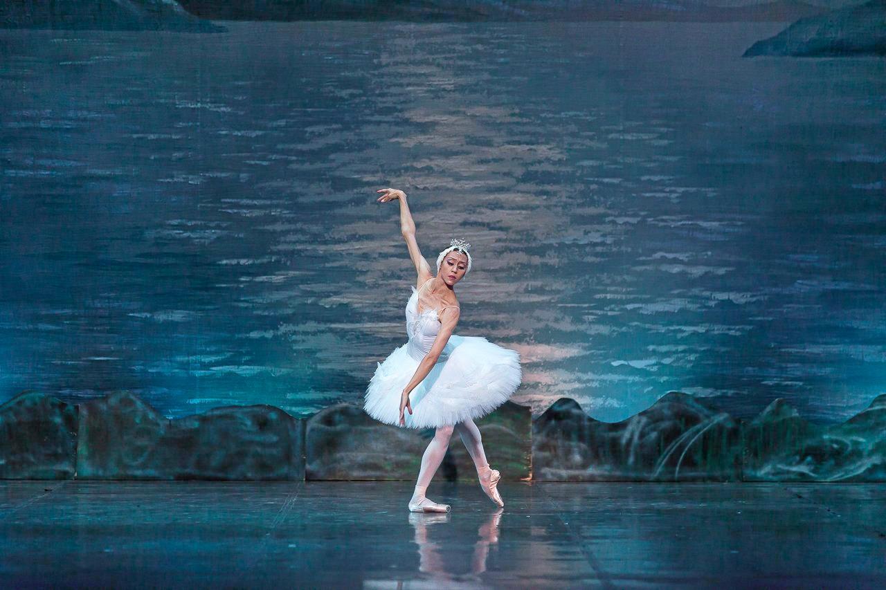 Anastasia Chumakova, principal soloist with Moscow Ballet La Classique, in Swan Lake.