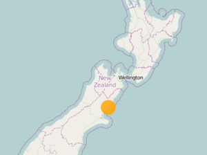 Strong 4.8 earthquake hits New Zealand