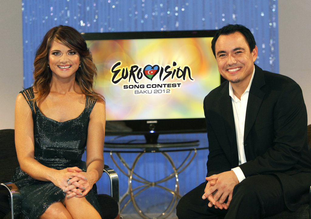 Julia Zemiro and Sam Pang present SBS's Eurovision Song Contest coverage.