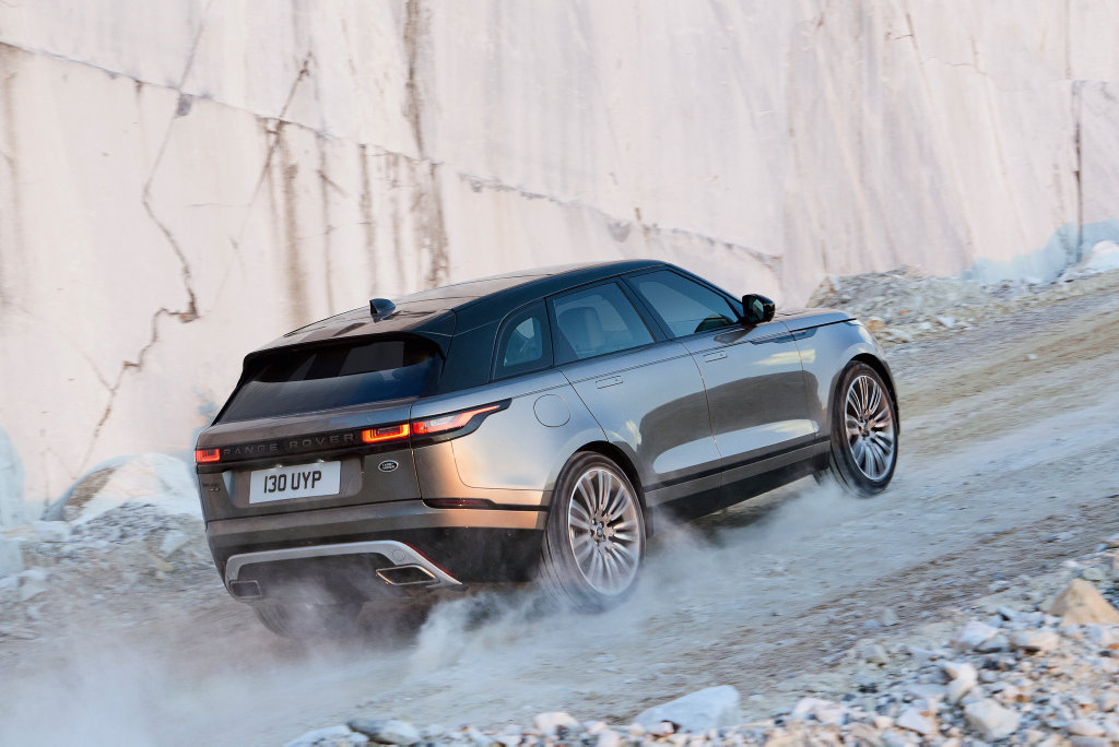 DESIGN FLAIR: Priced between $70,300 and $135,600, Range Rover's new mid-sized SUV Velar fills the space between the Evoque and Sport models.