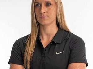 Olympian Alana Boyd attends International Women's Day celebrations