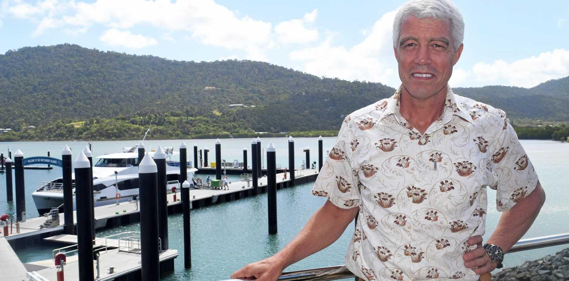 GREAT TEAM EFFORT: Cruise Whitsundays' Nick Hortle.