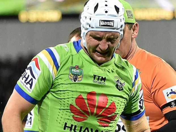 Jarrod Croker of the Canberra Raiders will miss the opening rounds through injury.