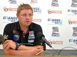Cutters Coach Steve Sheppard