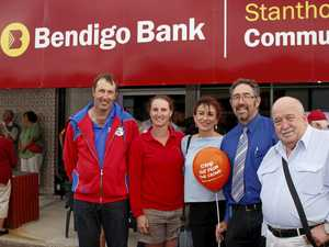 Bank helps community groups to mark birthday