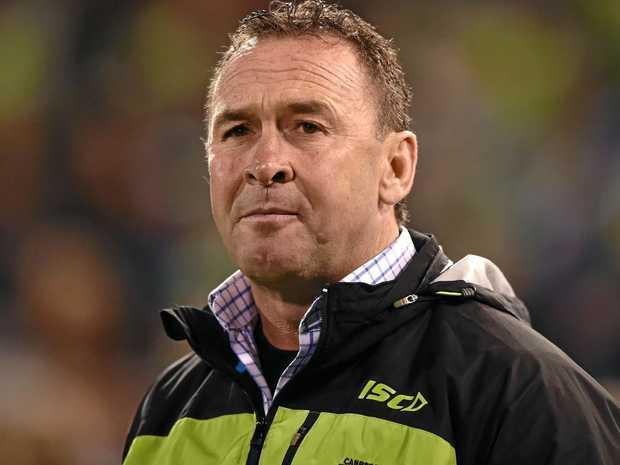 Canberra Raiders coach Ricky Stuart.
