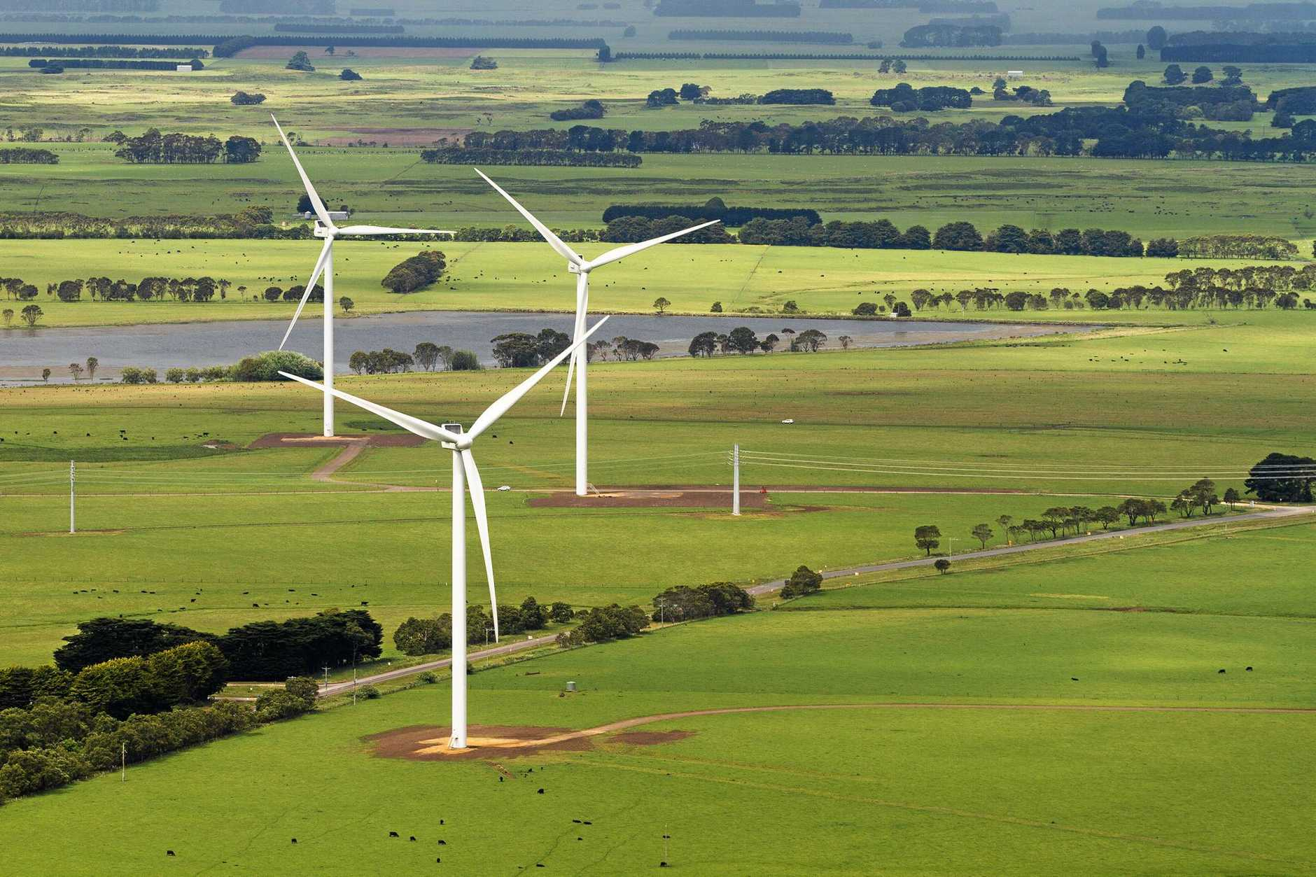 South Australia is heavily reliant on wind power.