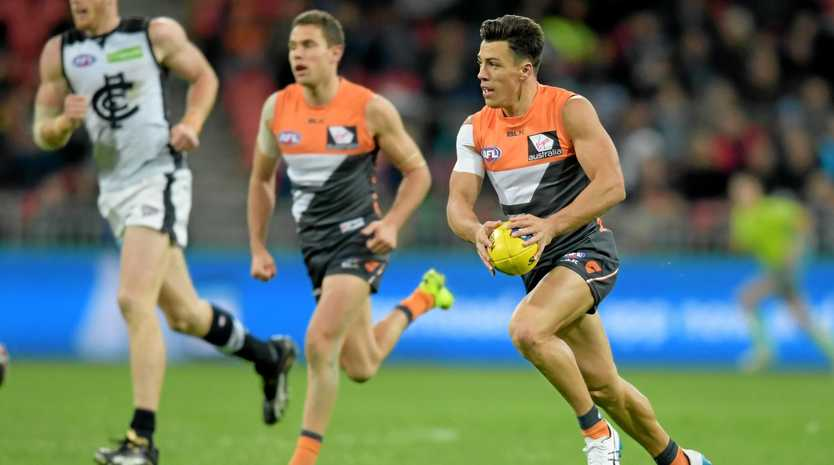 GWS Giants star Dylan Shiel.