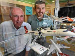 Truss' plane collection swaps Canberra for Hervey Bay
