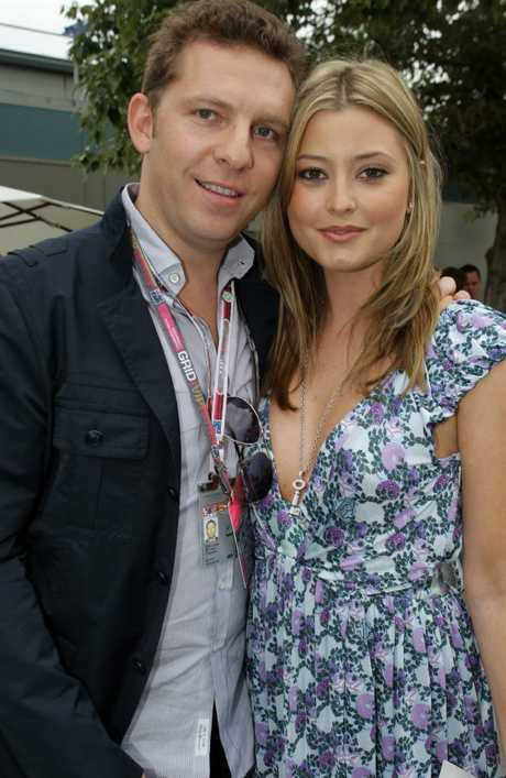 Holly Valance and her now-husband, billionaire Nick Candy