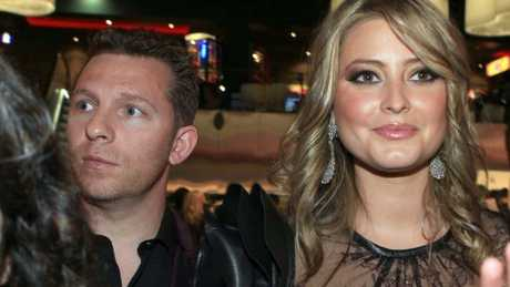 Billionaire property tycoon Nick Candy with then-fiancee Holly Valance at Melbourne's's Crown Casino in 2011.